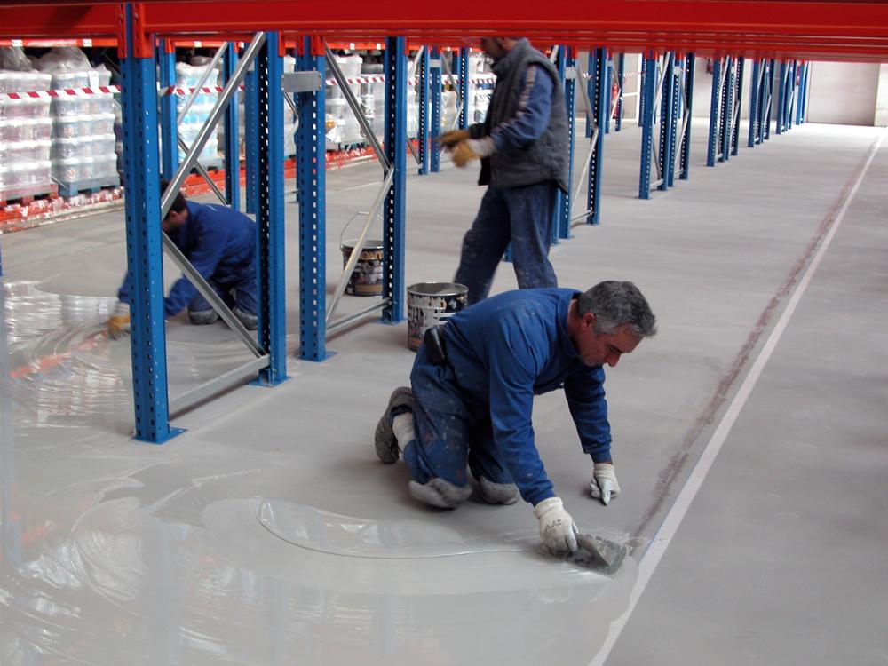 Morter tècnic del magatzem de la construcció Materials de l'Anoia